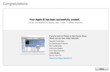 apple itunes account